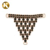 Quality Popular Metal Shoe Buckle Chain 95mm*75mm With Hanging Plat for sale