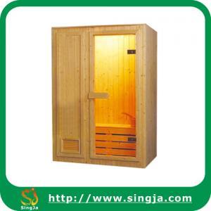China Wooden Home Sauna Cabin with Whole Sauna Accessories(SR-B4) on sale
