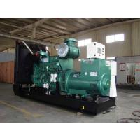Quality Electronic Cummins Diesel Generators With Water Cooling, 800KW, 3 phase,50HZ,open type for sale