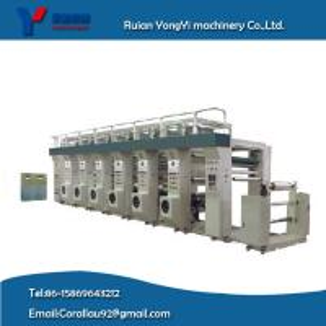 High-Speed Aluminum Foil Gravure Printing Machine