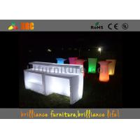 Buy cheap 82 * 82 * 110cm LED lighting counter / illuminated bar table / Bar Furniture from Wholesalers