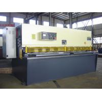 Quality Guillotine Oil Hydraulic CNC Shearing Machine For Plate Cutting for sale