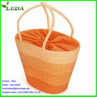 Quality Wheat Straw Ladies Shoulder Bag for sale