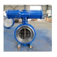 Quality Pneumatic Metal Seated Butterfly Valves DN300 PN10 For Industrial Waste Water for sale