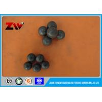 Quality Ball Mill Forged Steel Grinding Balls High Hardness HRC 58-63 60mn for sale