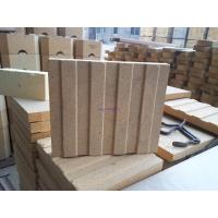 China Customized Shaped Fire Brick Refractory  , Clay Bricks For Glass Tanks on sale
