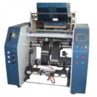 Buy Winding Automatic Stretch Film Rewinding Machiner , PP Food Cling Film Rewinder Machinery at wholesale prices