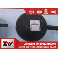 Quality B3 and B2 Material Forged Steel Ball For Gold And Copper Mining Special Use for sale