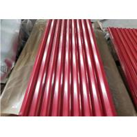 Quality Color Galvanized Corrugated Metal Roofing Sheets Ppgi Corrugated Roofing Steel 0.13-1.2mm for sale