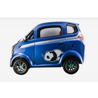 Quality 60 V Mini Electric Car With Disc Brake Steering Wheel 350 Kg Easy Operation for sale