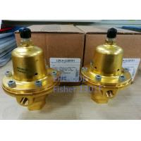 Quality 6000psi Fisher Controls Propane Regulator  1301F High Accuracy For Compression for sale