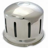 Quality Wheel Trim, Made of Stainless Steel, with 22.5-inch Nesting-type Rear Axle Cover for sale