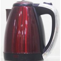 Steel Red Electric Water Boiler Kettle / Portable Electric Kettle