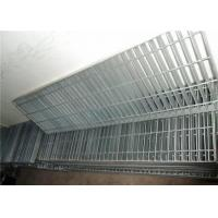 Quality High Performance Steel Grating Drain Cover With Frame 25 X 5 Bearing Bar for sale