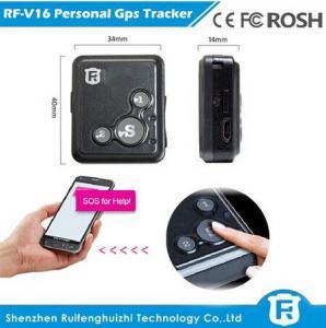 Quality Personal sos alarm gps tracking system Reachfar most popular RF-V16 for elderly gps bracel for sale