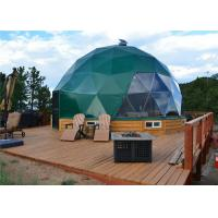 China European Style Geodesic Dome Shelter New Year Celebration Family Camping Tent on sale