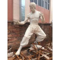 Quality Props and oddities  fiberglass bruce lee statue/sculpture as decoration in hotel mall display model for sale