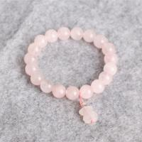 Quality 8mm Precious Stone Bracelets Attractive White Bead Bracelet For Wedding for sale