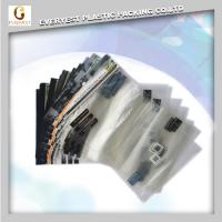 Quality opp plastic self adhesive bags transparent resealable with hanging header Free Samples for sale