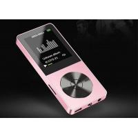 Quality Aluminum Alloy Portable MP3 Player MP4 Comes With Memory Lyrics Variable Speed Repeat E- Book for sale