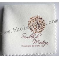 China Microfiber jewelry cleaning cloth on sale