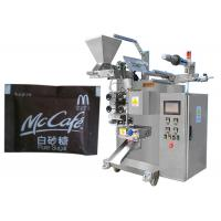 Quality High Class Sugar / Coffee Powder / Oatmeal / Granule Sachet Packing Machine With PLC for sale