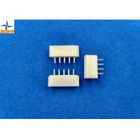 Quality 2.50mm Pitch Wire-to-Board Header Vertical Shrouded Tin (Sn) Plating wafer connector for sale