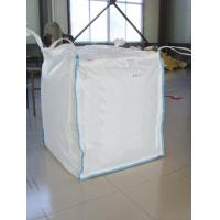 Quality FIBC 100% Pure Pp Material Ton Bag , Jumbo Plastic Bag With Baffle for sale