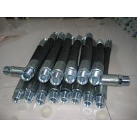 Quality High pressure hose assembly, Wire Braid Hydraulic Hose: SAE 100 R2A/DIN EN 853 2ST for sale