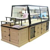 Quality Customized Bakery Glass Display Case High Temperature Resistance With Led for sale