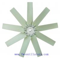 Quality plastic fan blades for industrial axial ventilation fan for sale
