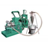 Air-cooled plastic mixing-pelletizing line