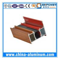 Quality Extruded Thermal Break Aluminum Profile for Sliding Window China for sale