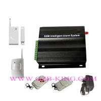 Quality GSM/MMS wireless home alarm with 7 wired zone and 99 wireless zone for sale