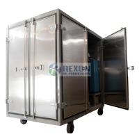 Quality Dust Proof Enclosed Hot Air Generator , Compressed Air Drying Equipment DAG-300 for sale