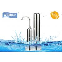 China Alkalince Ceramic Countertop Water Filter Purifier Faucet Mounted Two Stage on sale