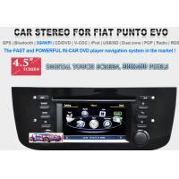 China Car Stereo for FIAT Punto Evo GPS SatNav DVD Player Headunit Radio Multimedia, Fiat Punto on sale