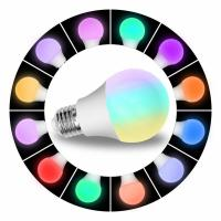 China 8W Wifi Enabled LED Light Bulb Smart Phone Control , Led Smart Color Changing Light Bulb 800 Lumen on sale