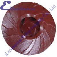 Quality Wear Resistant Industrial Slurry Pump Parts With Metal Lined Impeller for sale