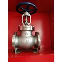 Quality SS304 PN16 1 Inch Water Globe Valve Flange Ends Regulating ANSI Standard for sale
