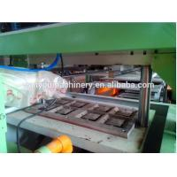 Quality Low Noise Paper Egg Tray Machine , Egg Box Making Machine Paper Apple Tray Making for sale