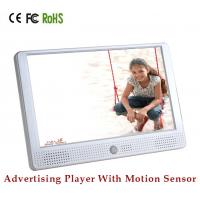 Quality Digital Audio Video Devices Motion Sensor LCD Display With External Button 10 inch TFT Advertising player for sale