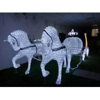 Quality Led christmas horse carriage cinderella carriage for sale