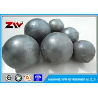 Quality Wear-resistant High Chrome Cast grinding media balls for cement plant for sale
