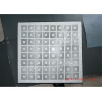 Buy cheap Air Flow Perforated Raised Floor Anti - static For Computer Rooms from Wholesalers