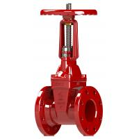 Buy cheap Flange Grooved Type Resilient Seated Gate Valve FM/UL Standard from wholesalers