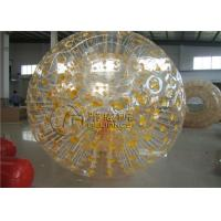 China Outdoor Sport Fun Inflatable Bumper Ball Grass Zorb For Water Park on sale