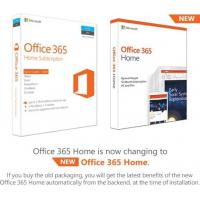 Quality Windows 10 Microsoft Office 365 Home Product Key / Office 365 Home License Key for sale
