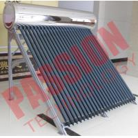 Quality High Pressure Roof Mounted Solar Water Heater With Electric Backup 200L Capacity for sale