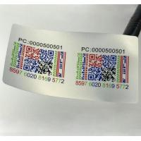Quality Customized Thermal Transfer Printing QR Code Labels Stickers for sale